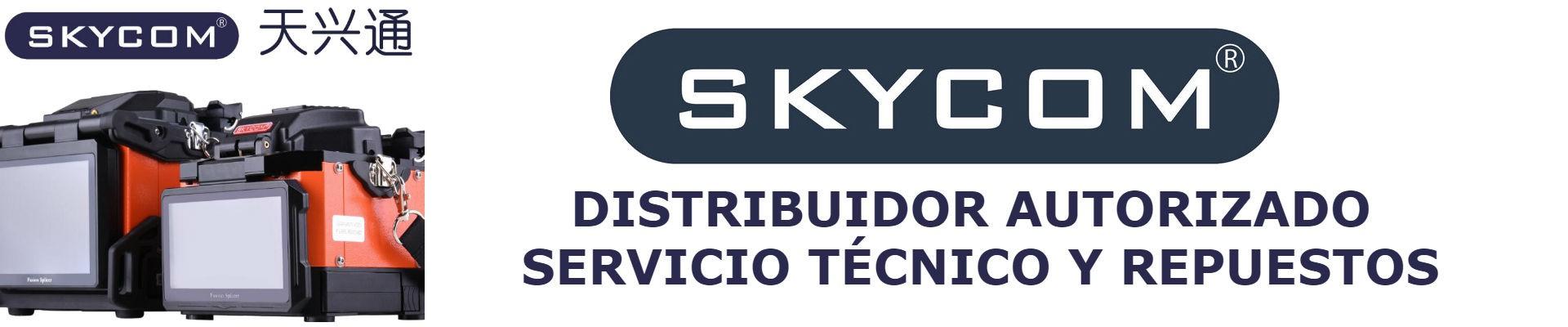 Distribuidor autorizado y servicio tecnico SKYCOM